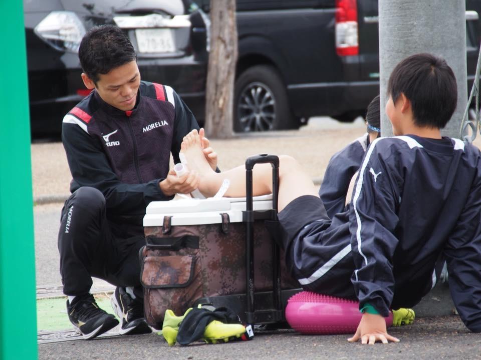 スポーツ現場のトレーナー活動②